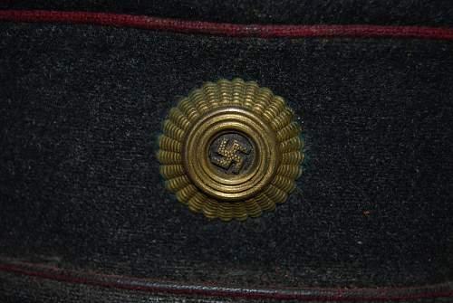 Unknown Third Reich Visor?