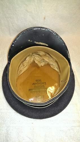 Hermann Goering Enlisted Visors Hat