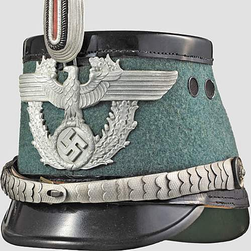 WW2 Police Shako's