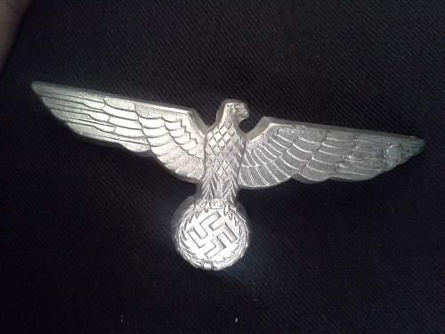 Reproduction Heer cap eagle?