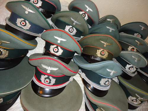 Just a pile of hats....