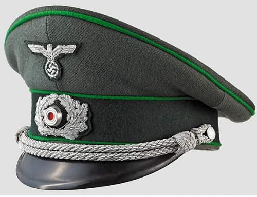 Panzer Grenadier Visor Cap