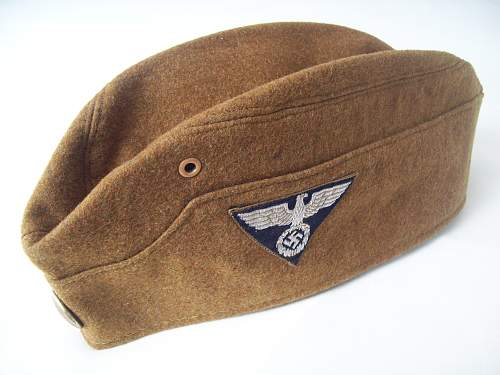 """SA Garrison cap """"Gruppe Hessen"""""""