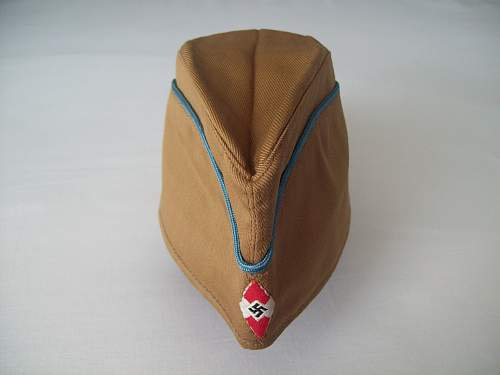"""Overseas cap for the """" Flieger - HJ """" ( Flying Hilter Youth )"""