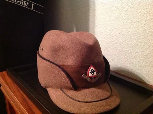 "Reich Labour Service (RAD) Enlisted Man's Cap ""Robin Hood"""
