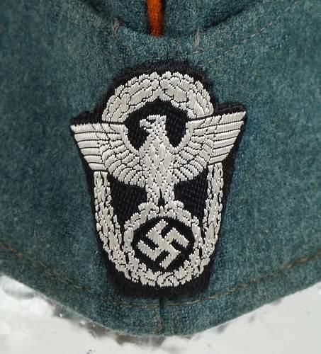 Rural Police ( Gendarmerie ) Overseas Cap