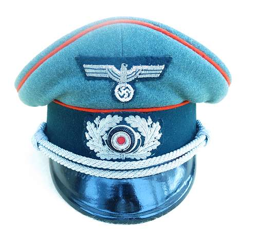 Click image for larger version.  Name:Heer Artillerie Schirmmütze 003.jpg Views:132 Size:219.2 KB ID:718981