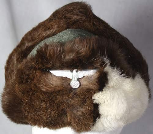 Army fur hat
