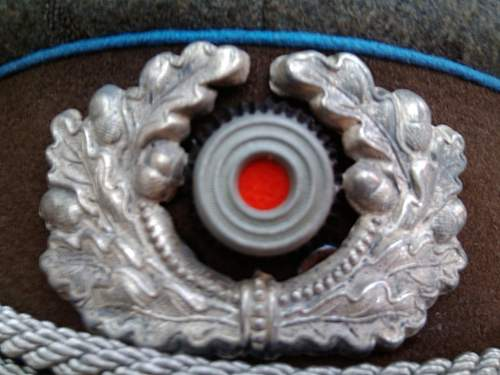 """Geheime Feldpolizei""-HPC-officers visor"