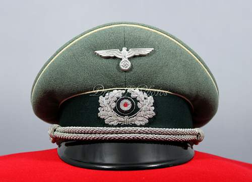 """Geheime Feldpolizei""-HPC-officers visor"