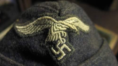 luftwaffe side cap