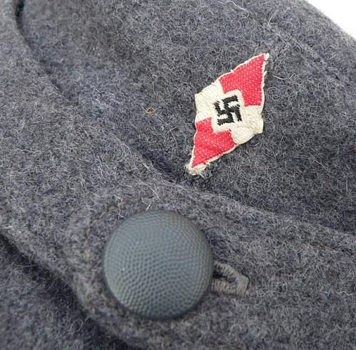 Hitler Youth Flak helper's cap