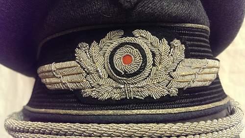 Luft Officers Visor - EREL Kleiderkasse