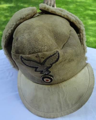 Luftwaffe winter fleece cap