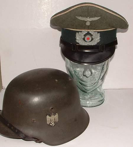 Infantry Visor (Vienna made ?)