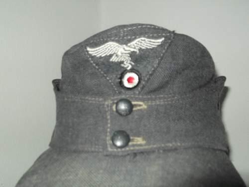 My m43 luftwaffe cap
