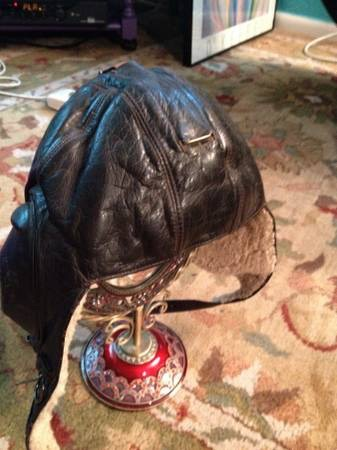 Leather Luftwaffe Flight Helmet