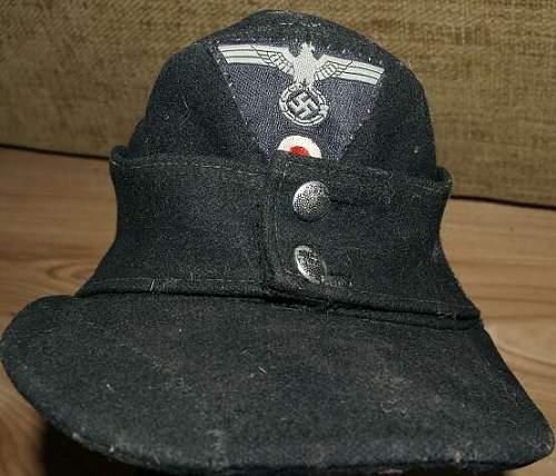 Heer Panzer Einheitsfeldmutze