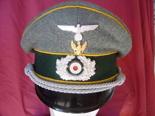 NCO visorcap - original ?