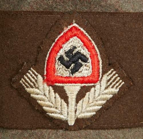 RAD officers Robin hood cap