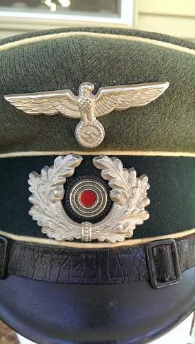Heer NCO Schirmmutze