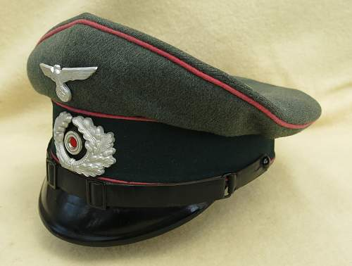CW Panzer Other Ranks/NCO visor cap
