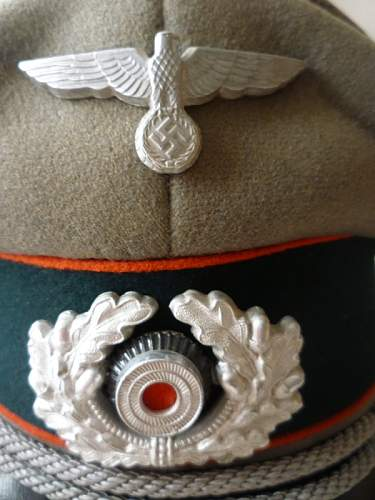 Artillery Visor Cap: can I have your opinions?