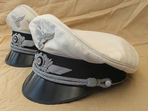 Click image for larger version.  Name:Luftwaffe white top visor caps 004.jpg Views:26 Size:217.4 KB ID:791643