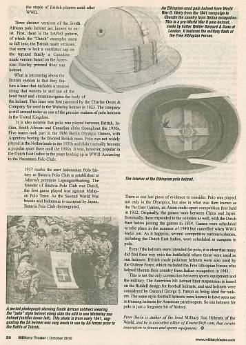 DAK Panzer Regiment 8 pith helmet.