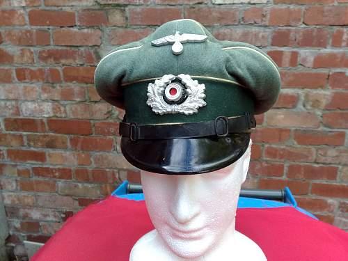 My Army visor cap:)