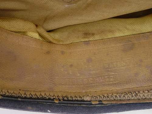 Click image for larger version.  Name:Luftwaffe Officers schirmutze Erel makers mark..jpg Views:83 Size:140.1 KB ID:7993