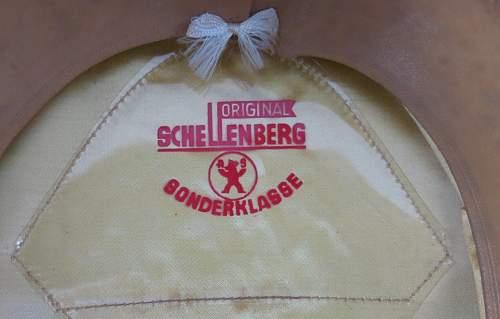 Click image for larger version.  Name:Schellenberg Infantry Officer Visor Cap 010.jpg Views:22 Size:136.6 KB ID:801982