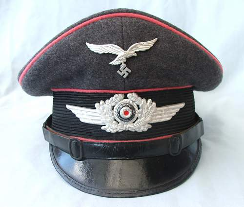 Click image for larger version.  Name:LW Engineers NCO visor cap 005.jpg Views:223 Size:204.5 KB ID:808886