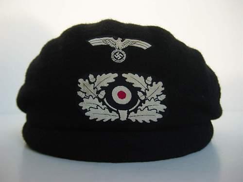 for colleague Hritz, Panzerschutzmuetze