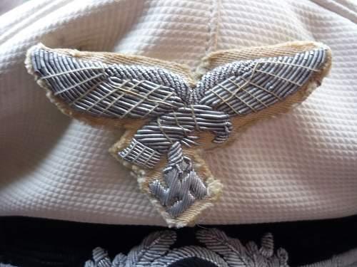 Luftwaffe summer visor