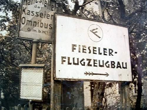 "Factory guards ""Fieseler Flugzeugbau"" ( Airplane  factory )"