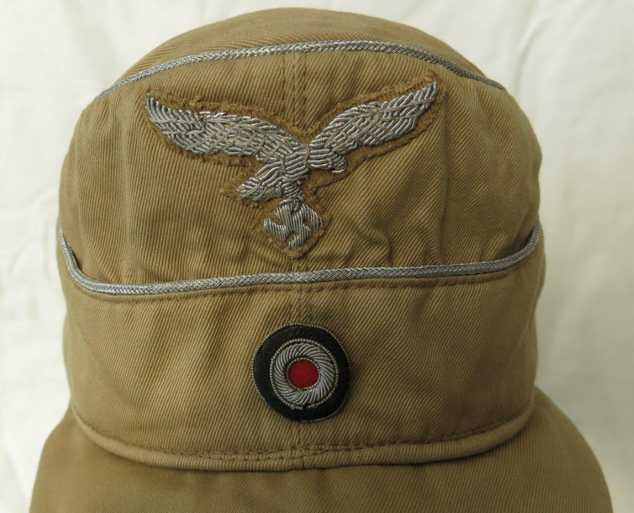 luftwaffe tropical m41 officers cloth billed field cap
