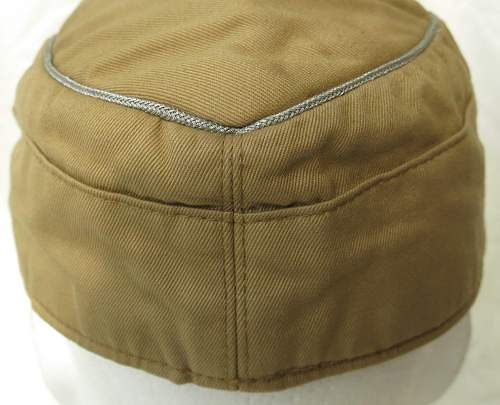 Click image for larger version.  Name:Luftwaffe tropical officer M41 cloth cap 009.jpg Views:40 Size:148.7 KB ID:830014