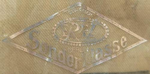 Click image for larger version.  Name:Luftwaffe tropical officer M41 cloth cap 017.jpg Views:42 Size:98.4 KB ID:830021