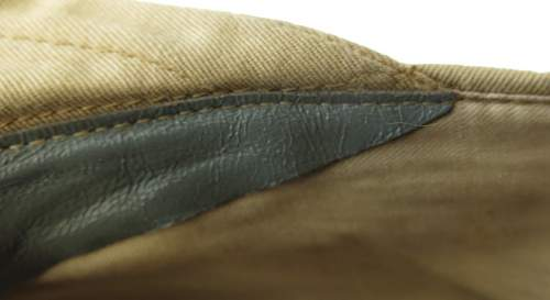 Click image for larger version.  Name:Luftwaffe tropical officer M41 cloth cap 025.jpg Views:34 Size:64.1 KB ID:830027
