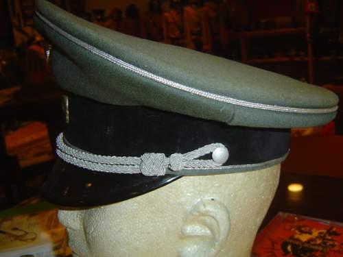Waffen SS General officer schirmutze