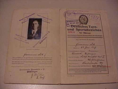Schupo Schirmmutze with a Dark Past