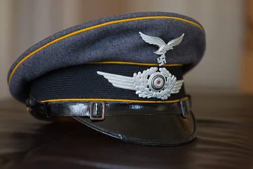 Luftwaffe EM/NCO Flight Visor Cap