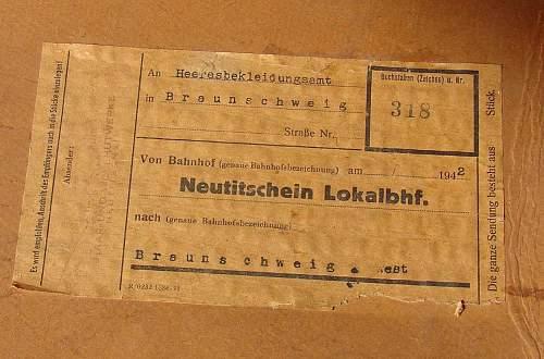 Generic Paper Label - German Felt Dress Hat