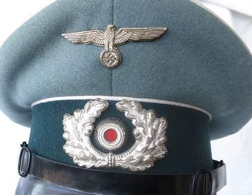 Click image for larger version.  Name:Erel 'standard' NCO - OR visor cap 004.jpg Views:104 Size:224.6 KB ID:840623