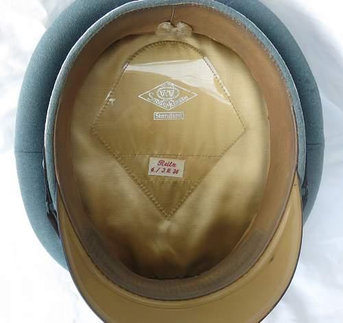 Click image for larger version.  Name:Erel 'standard' NCO - OR visor cap 009.jpg Views:71 Size:218.4 KB ID:840626