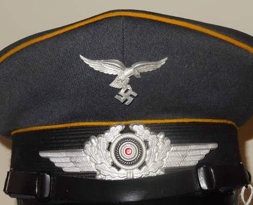 Luftwaffe NCO Visor