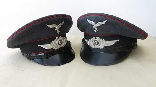 Click image for larger version.  Name:Luftwaffe Flak OR - NCO visor caps 009.jpg Views:30 Size:87.5 KB ID:841567