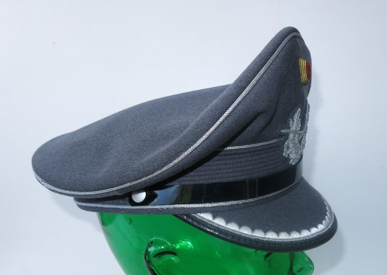 Current Bundesheer officer visor cap