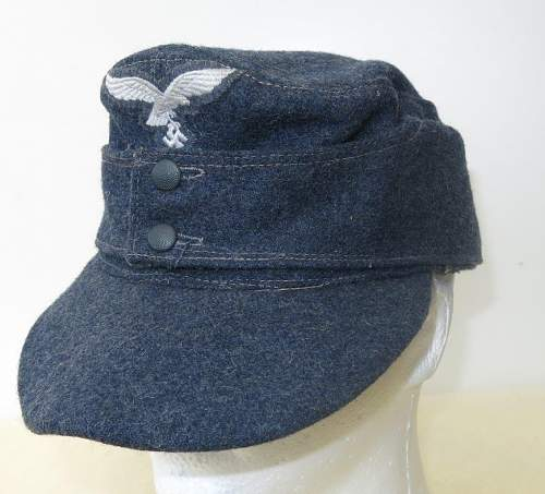 Click image for larger version.  Name:Luftwaffe OR's M43 cap. RB numbered 002.jpg Views:34 Size:151.6 KB ID:843245